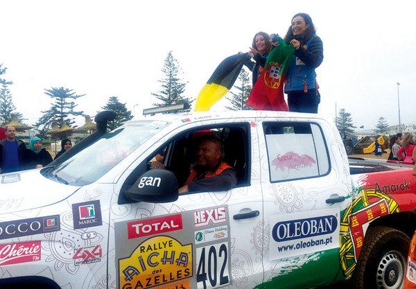 Elisabete Jacinto em 6º Lugar no Rallye Aïcha des Gazelles com volkswagen