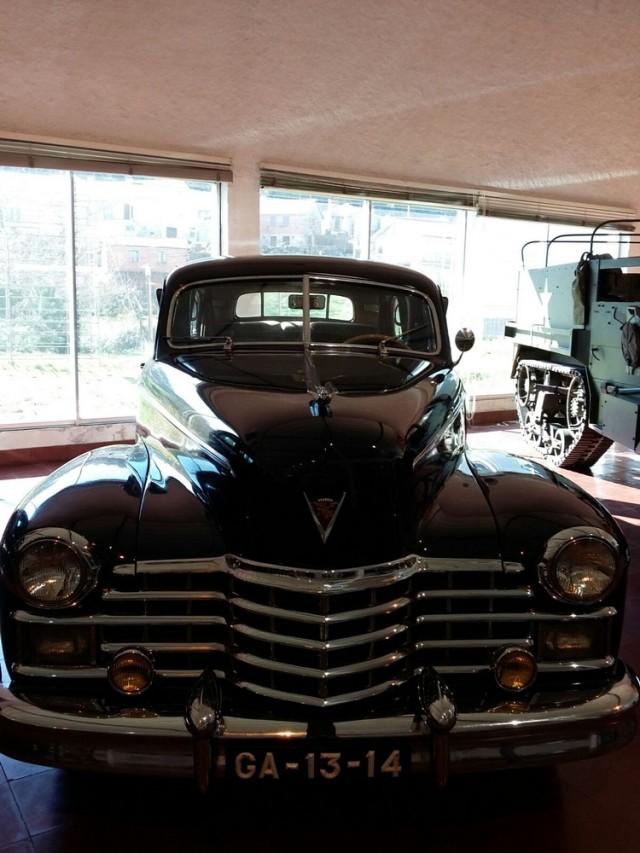 Museu carro do Caramulo Cadillac serie 75 Abel Salazar