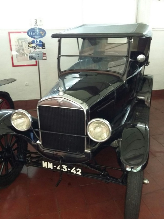 Museu carro do Caramulo Ford T 1925