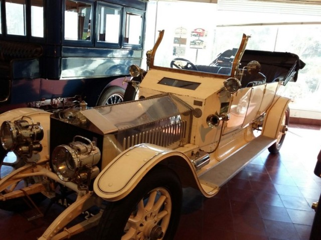 Museu carro do Caramulo Rolls-royce silver ghost 1911