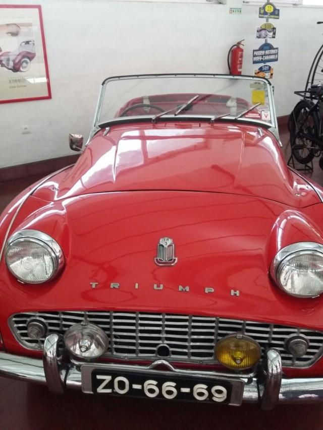 Museu carro do Caramulo Triumph tr3a 1991